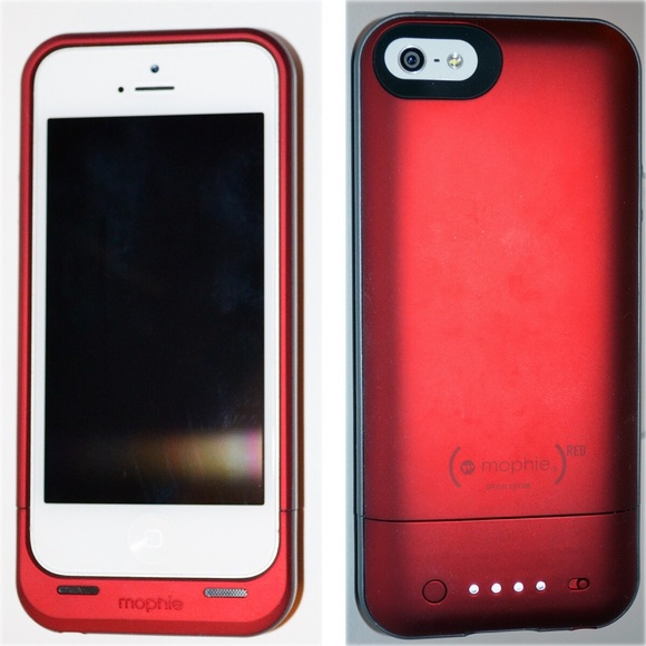promo code e02ca d1026 Mophie Product Red iPhone 5/5s case