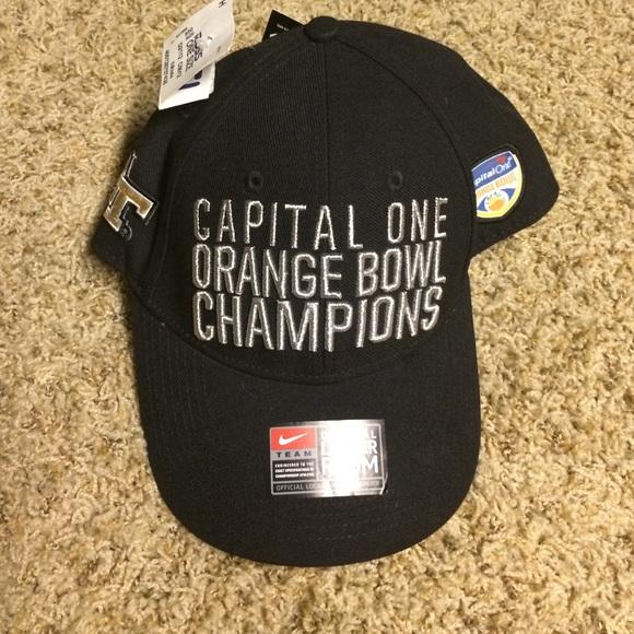 Georgia Tech Nike Orange Bowl Champs Hat b7333384982