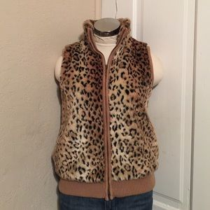 Lisa International Jackets & Blazers - Petite medium plush vest.