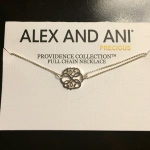 Alex & Ani Jewelry - Alex and Ani Path of Life Pull-Chain Necklace