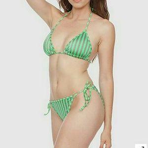 American apparel nylon tricot flat bikini bottom american apparel