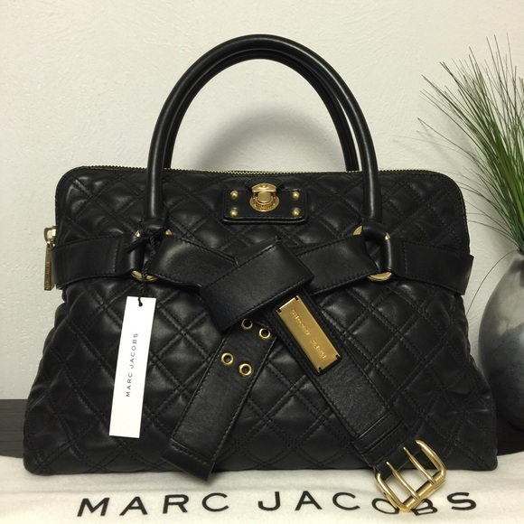 52% off Marc Jacobs Handbags - ⛔️SOLD⛔️Marc Jacobs Bruna ... : marc jacobs quilted tote bag - Adamdwight.com