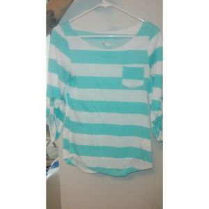 Striped DNA Couture Shirt