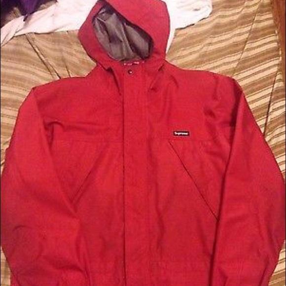 Supreme - Rare supreme red coat from Sam's closet on Poshmark