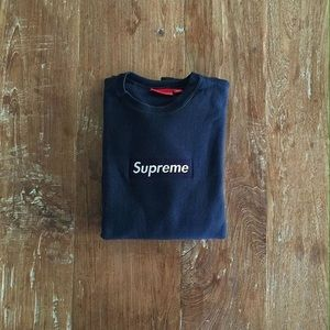 Supreme box logo long sleeve