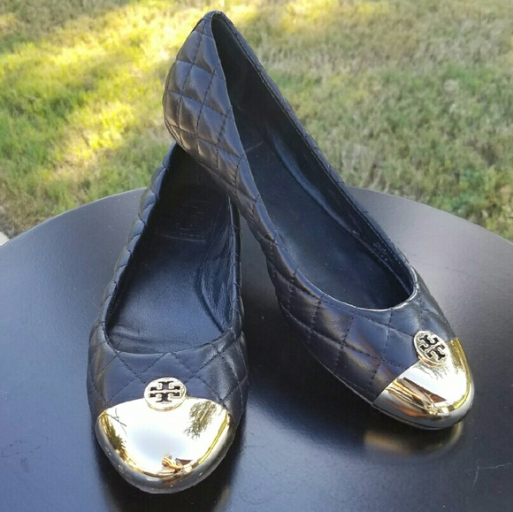 504707f6ec84 56% off Tory Burch Shoes - Tory Burch Kaitlin quilted ballet flats ...