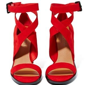 Shoe Cult by Nasty Gal crosswind red pump