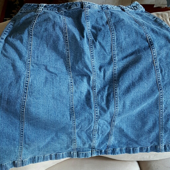 style co denim skirt size 14 from deanne s closet on