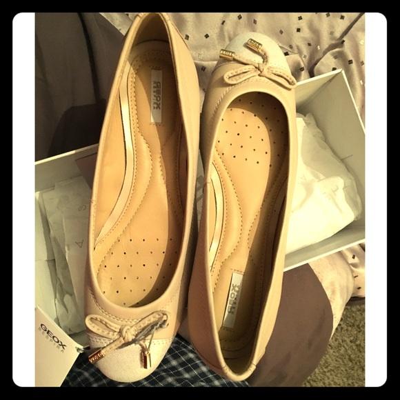 1521d70a02 Geox Shoes | Nude Ballerina Flat | Poshmark