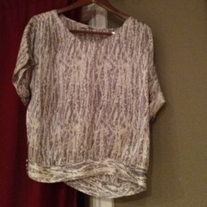 Joie silky coupe cut shell top