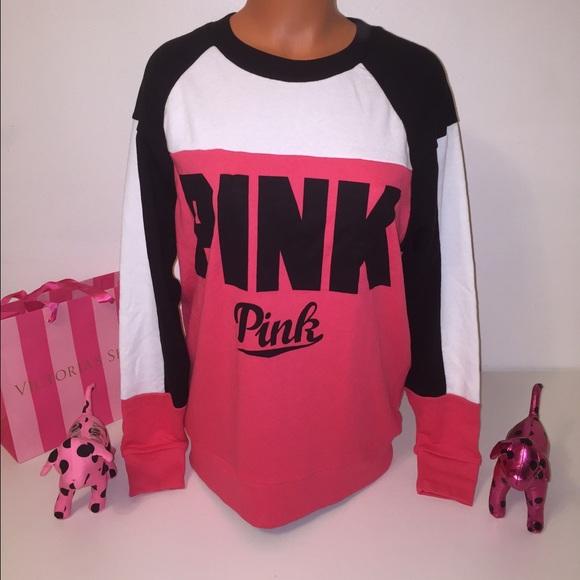 PINK Victoria's Secret - NEW PINK VS CREW NECK SWEATSHIRT from ...