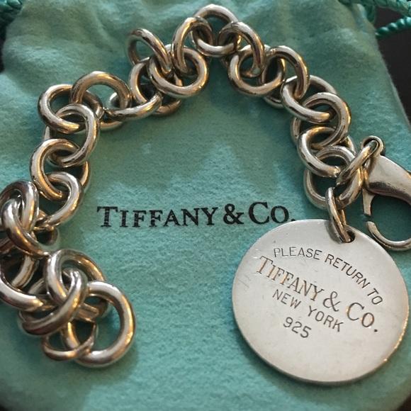 83f26e0884f01 Tiffany & Co. Jewelry   Return To Tiffanys Round Tag Bracelet   Poshmark