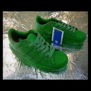 Adidas Shoes - BIG SALE Adidas Superstar Originals Green 6