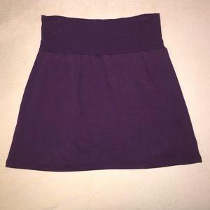 American Apparel Plum Colored Skirt Size Medium