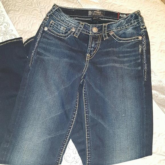 77% off Silver Jeans Denim - Sale🔥New Silver Suki Fluid Denim 25 ...
