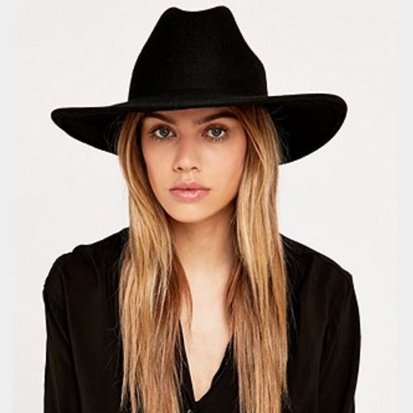29827f7be44dd Ecote Black Felt Hat. M 562db3507fab3a8a4c014d11