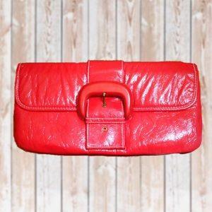 Handbags - NWOT Red Clutch