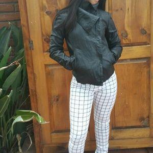 Jackets & Blazers - Leather jacket. Flash. NWT