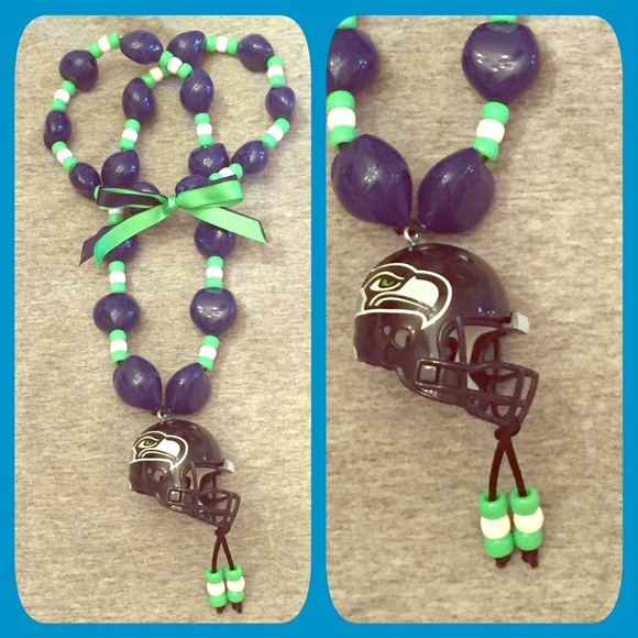 seattle seahawks kukui bead necklace os from susana s