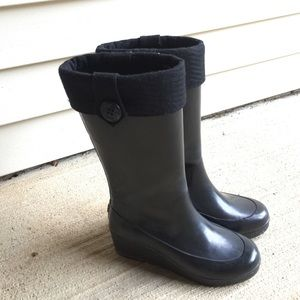 Sperry Shoes - Sperry Topsider Wedge Rain Boots! ☔️