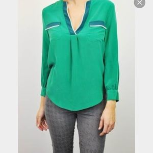Joie Tops - Joie Green Mystic Blouse