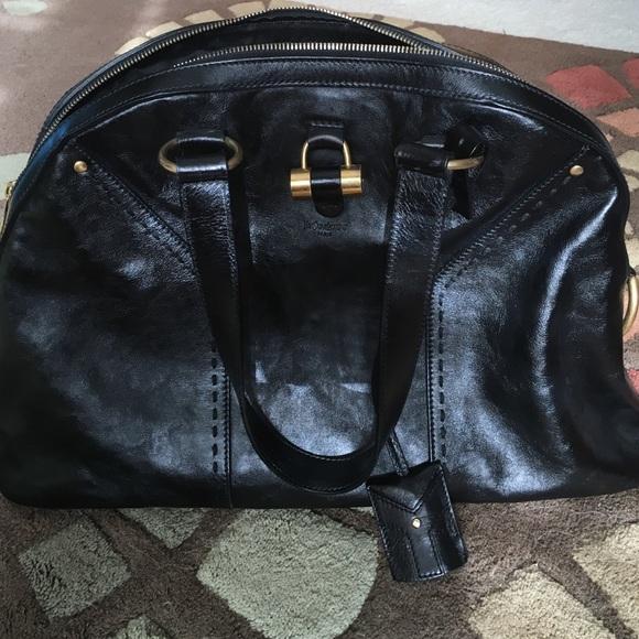 Ysl black large muse handbag. M 562e3d809c6fcf9f0e000816. Other Bags you  may like. Yves Saint Laurent ... aefe718b4d9ba