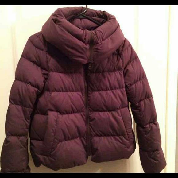 f190e847e7d UNIQLO Jackets & Coats | Plum Down Feather Jacket Xs | Poshmark