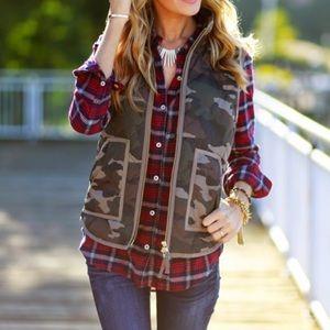 J. Crew Jackets & Blazers - Jcrew factory camo vest 🅿️🅿️ $120