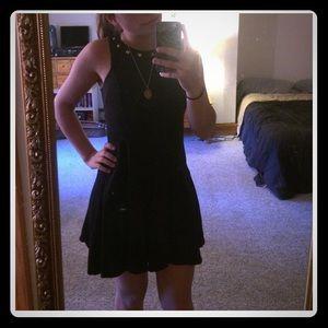 Xhilaration Black Studded Dress