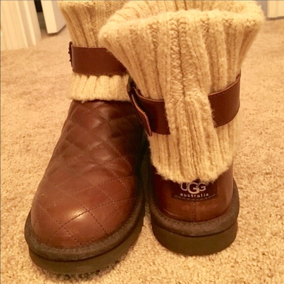 0cff0c2b645 UGG Women's Cambridge Diamond Quilt boots size 8