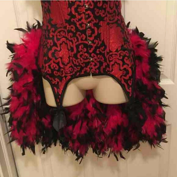 Other - Burlesque Handmade Feather Costume