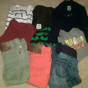 Peek Other - 6-12 month boy clothes bundle!!