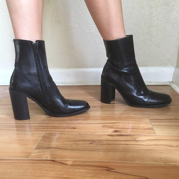 Free Lance Leather Boots