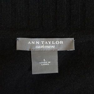 Ann Taylor Sweaters - 💕🌺 Black Cashmere Shawl Collar Sweater 🌺💕