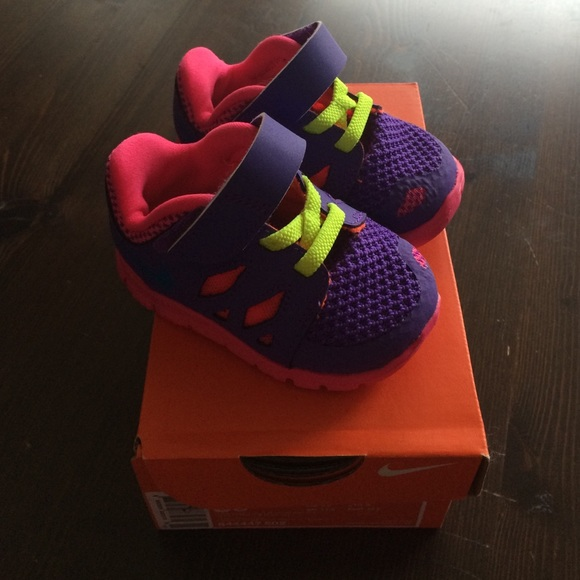 Baby girl Nike free 5 shoes