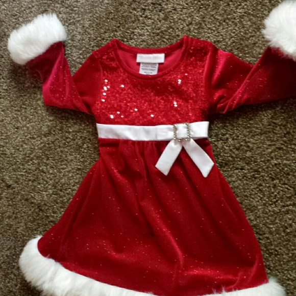 bonnie baby 18 month christmas dress