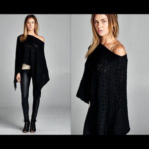 Sweaters - Warm Layered Poncho