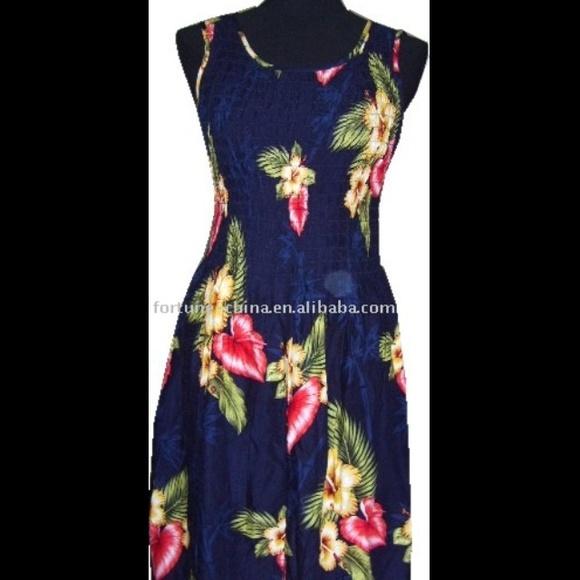 41b367283ce5 Bali Chic Dresses | Hawaiian Maxi Dress | Poshmark