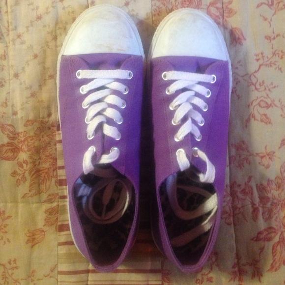 Airwalk Shoes - Purple Airwalk tennis shoes women s ... fed9d301d