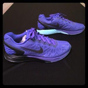 Nike Lunarglide 6 Kvinner Størrelse 8,5