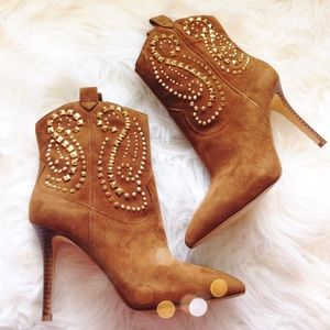 MICHAEL Michael Kors Shoes - Stunning Michael Kors Studded Suede Boots