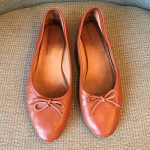 All leather Italian ballet flats