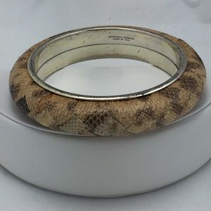 Bottega Veneta Jewelry - Authentic Bottega Veneta Lizard Skin Bracelet!