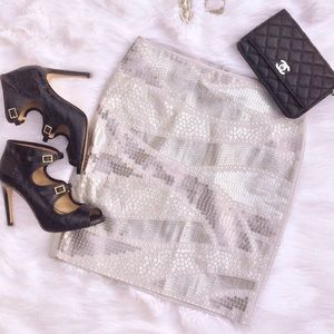 WHBM Sequin mini