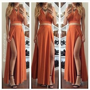 Dresses & Skirts - 2 pc maxi set
