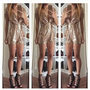 Dresses & Skirts - Glitz and glam romper