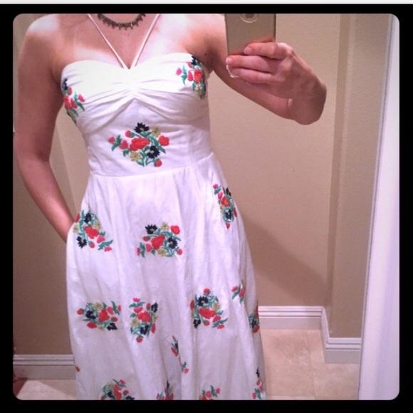 959807bd3ff717 Anthropologie Dresses   Skirts - Anthropologie RARE Leifsdottir Embroidered  Dress 4