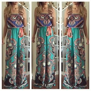 Pants - Printed jumpsuit