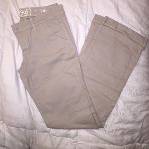 SO khakis pants on Poshmark