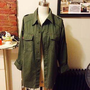 Vintage Unisex Army/Military Shirt/Jacket Size XS